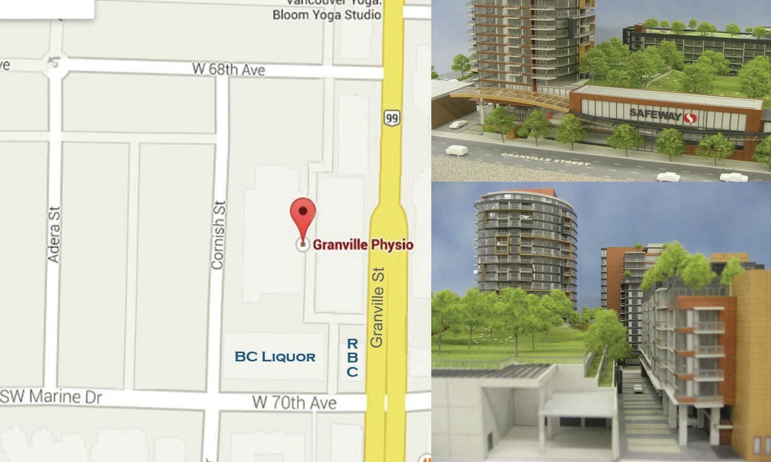 directions to granville physio vancouver