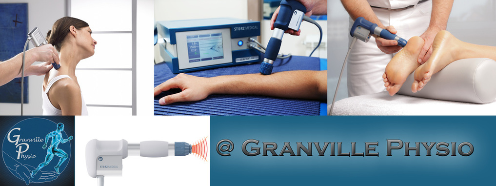 Shockwave at granville physio vancouver